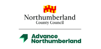 NCC and Advance Northumberland Logo